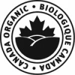 organic logo black